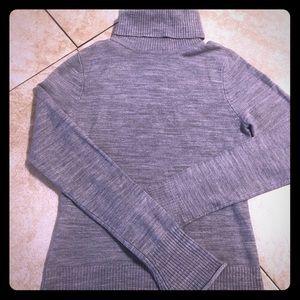 Grey turtleneck NWOT